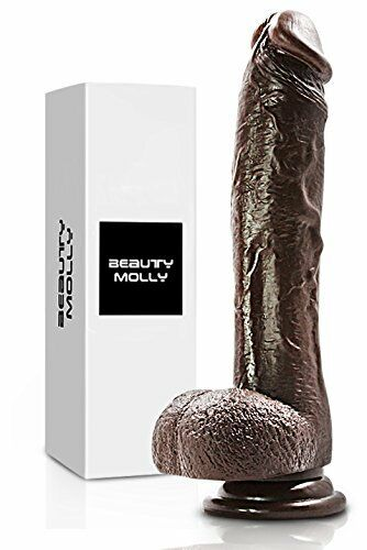 Big Dildo 8 Inches Realistic Dong Waterproof with Suction Cup Woman Female Toy - Men Guide Store