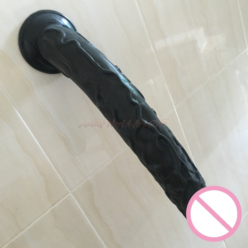 "Huge Penis 13.8"" Big Penis Super Huge Giant Dildo - Men Guide Store"