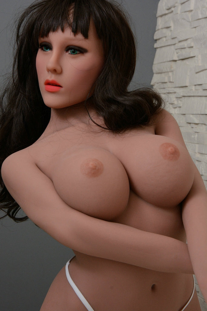 Viola: Big Tit Sex Doll / Petite Sex Doll TPE Sex Doll with Big Boobs 135 cm - Men Guide Store