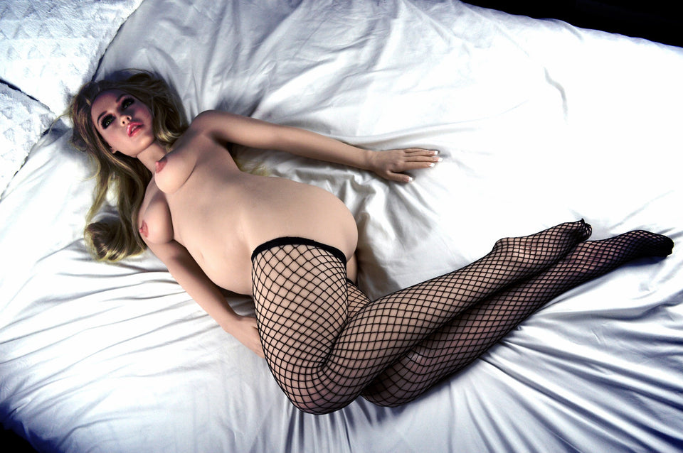 Debbie: Blonde Chubby Sex Doll - Men Guide Store