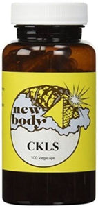 CKLS (Colon, Kidney, Liver, Spleen) by NEW BODY PRODUCTS 100 Vegicaps, - Men Guide Store