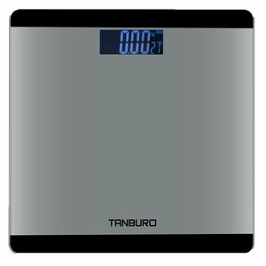 Digital Bathroom Smart Scale Body Weight Fat BMI Bone Calorie Analyzer 400lb (Weight Scale) - Men Guide Store