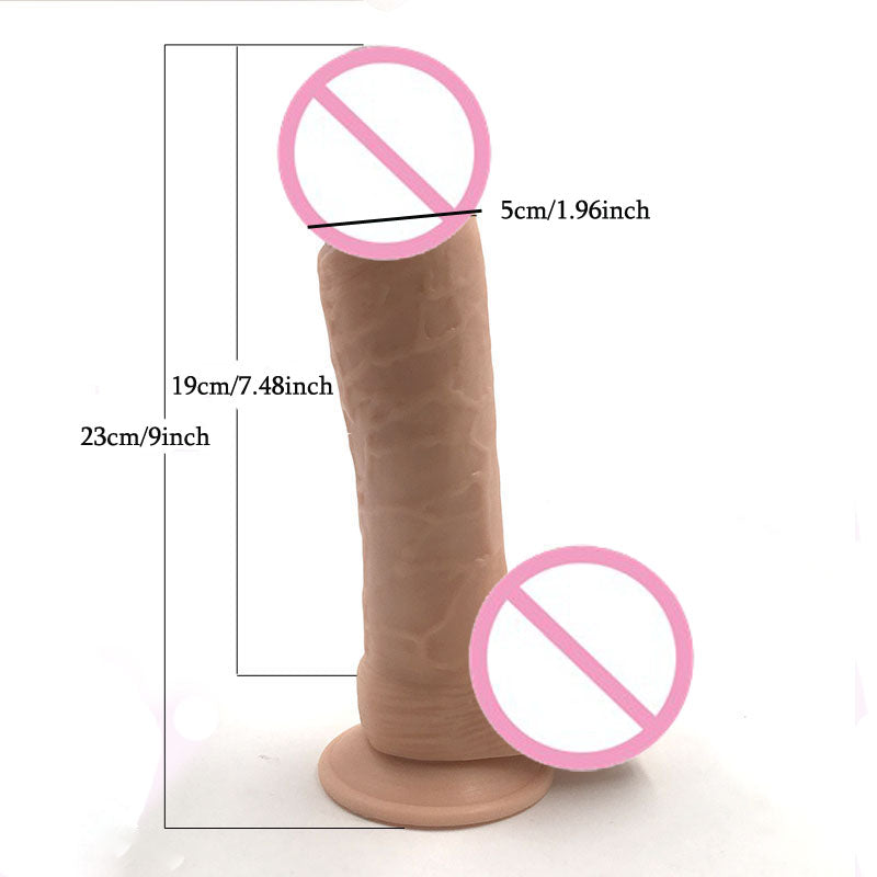 Dildo For Women Flexible Big Dick Adult Sex Toys - Men Guide Store