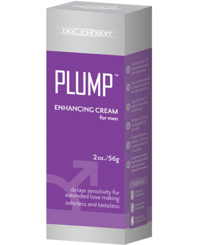 Doc Johnson Plump Enhancement Cream For Men Makes Penis Look and Feel Larger - Men Guide Store