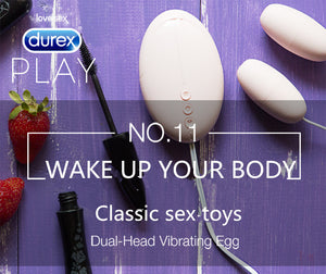 Durex Original Dual Head Powerful Vibrating Egg Speed Adjustable Vibration - Men Guide Store
