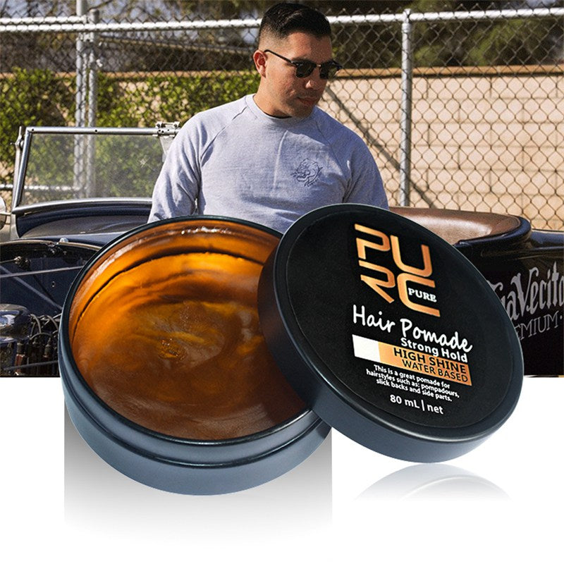 Men hair care products natural look strong ancient hair cream product hair styling hair waxes - Men Guide Store