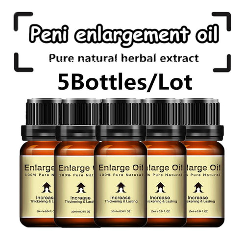 (5Pcs )Lanthome Penis Enlarge Oil Increase Penis - Men Guide Store