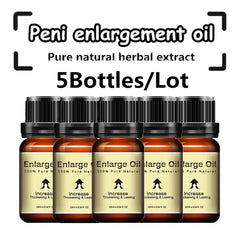 (5Pcs )Lanthome Penis Enlarge Oil Increase Penis