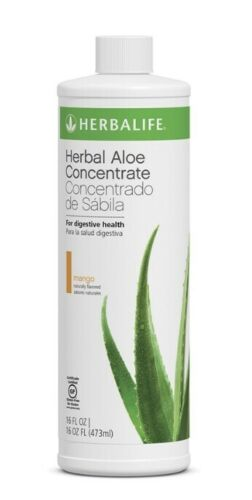 Herbalife Herbal Aloe Concentrate Mango 16 oz/ ALL FLAVORS - Men Guide Store