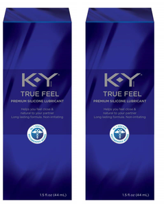 KY True Feel Premium Silicone Personal Lubricant - Men Guide Store