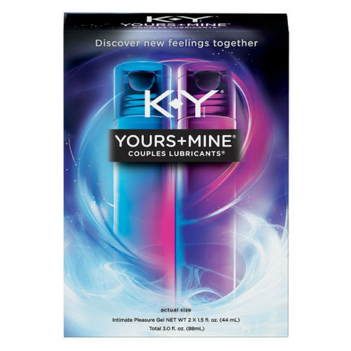 Lubricant for Him and Her, K-Y Yours & Mine Couples Lubricant - Men Guide Store