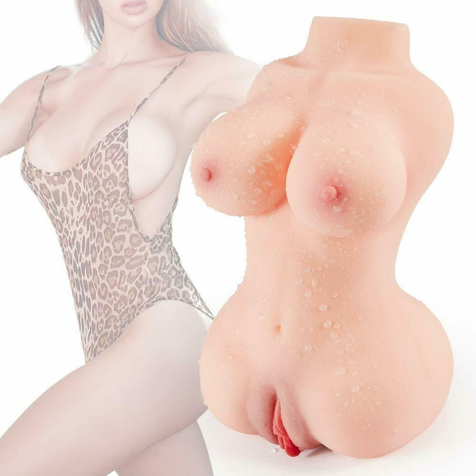 Male Masturbator Realistic Real Size Silicone Sex Doll Adult Love Toys for men - Men Guide Store