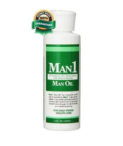 Man1 Man Oil Natural Penile Health Creme - Men Guide Store