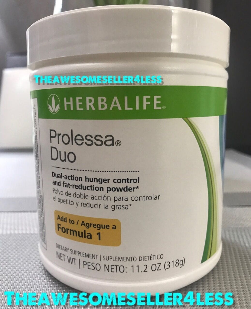 NEW Herbalife PROLESSA DUO 11.2 oz Weight Management Powder - 30 Day Supply - Men Guide Store