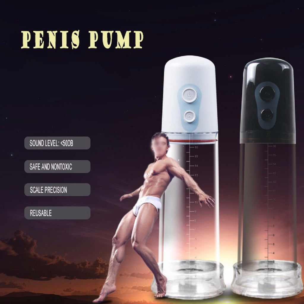 New Electric Penis Pump Penis Extender Pump and Sex Toy