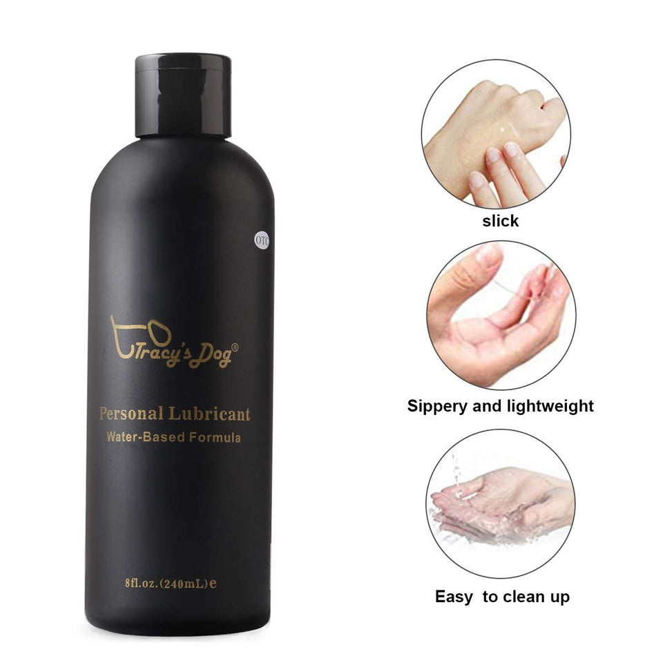 Personal Lubricant Water Based Lube for Women, Men and Intimate Couples - Men Guide Store