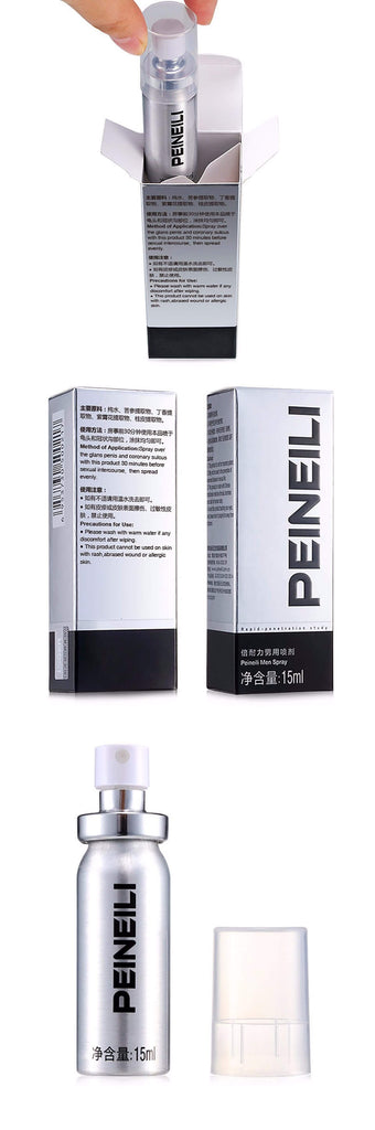 Peineili Penis Delay Spray for Men (80% SALE OFF Limited Time) ( 3 pcs ) - Men Guide Store