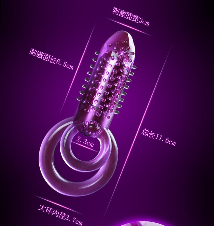 Crystal Vibrator Cock Ring - Men Guide Store