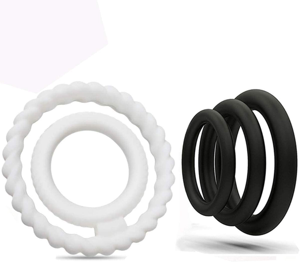 Super Soft Dual Silicone Penis Ring