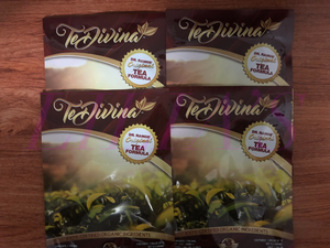Te Divina ,Vida Divina Detox Tea, 4 week supply, 4 Bags,Weight Loss organic - Men Guide Store