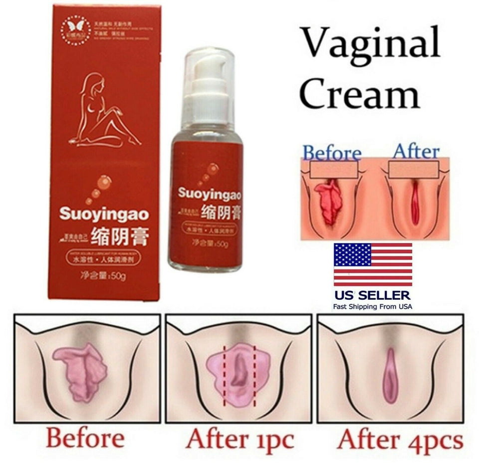 Tightening Gel Vaginal Shrink Cream For Women Sex Aid Tight Virgin Again 50ML - Men Guide Store