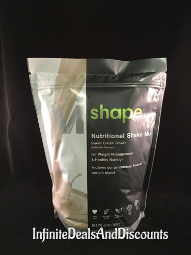 ViSalus Vi-Shape Sweet Cream Nutritional Shake Mix (24 Servings - Men Guide Store