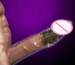 Zerosky Silicone Reusable Condoms Penis Extension Sleeves - Men Guide Store