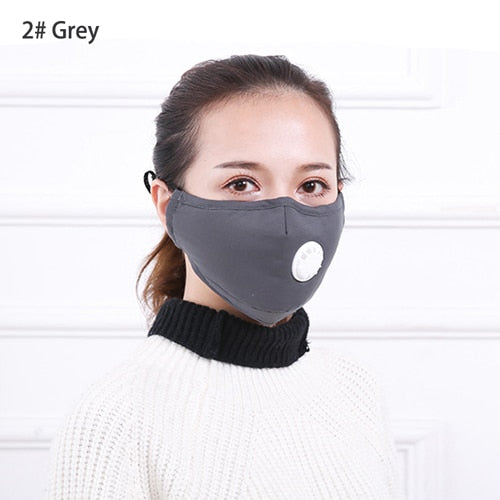 Anti Pollution Mask Dust Respirator Washable Reusable Masks Cotton Unisex - Men Guide Store