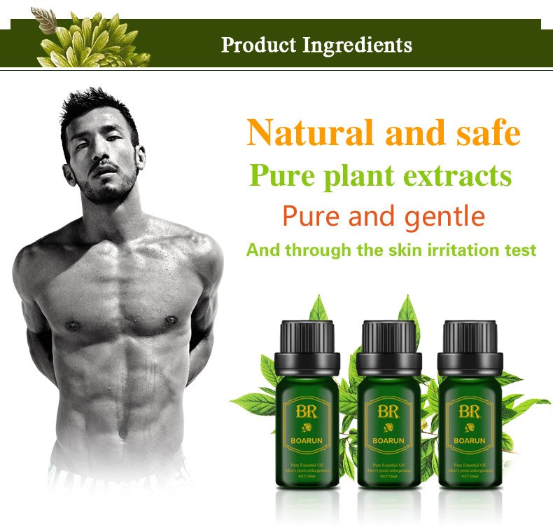 BOARUN Male Permanent Penis Extender Enlarger Oil - Men Guide Store