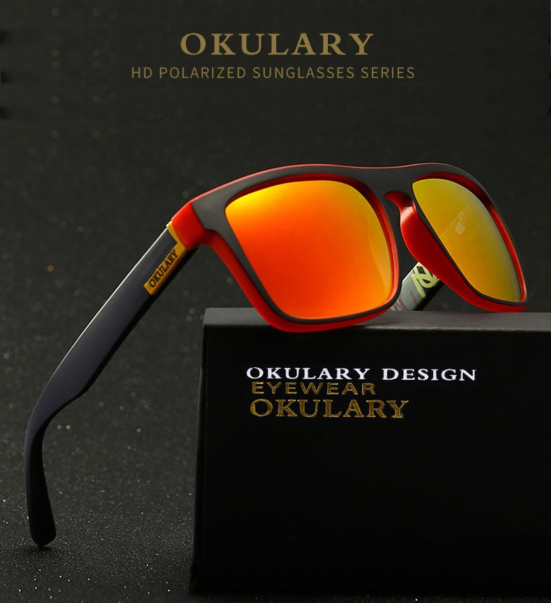 OKULARY Polarized Sunglasses MenSun Glasses UV400 - SL23 - Men Guide Store