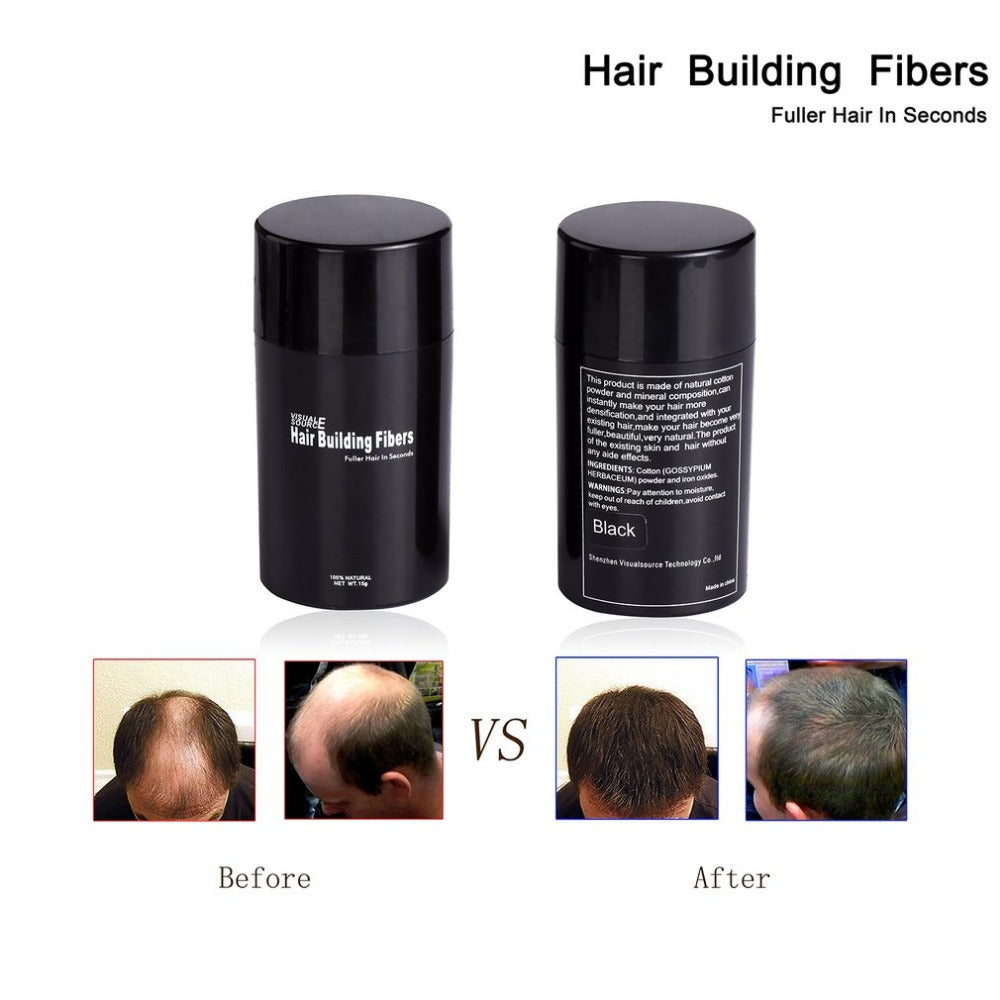 Hair Building Fiber Natural Plant Extracts Styling Powder Hair Loss - Men Guide Store
