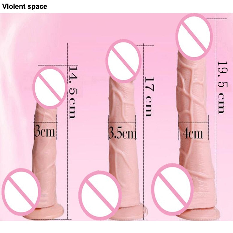Strapless strapon Dildo suction cup Sex toys for woman - Men Guide Store