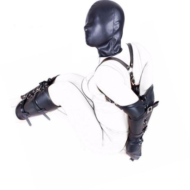PU Leather Tight Single Glove,Adult Costumes Sex Toys - Men Guide Store