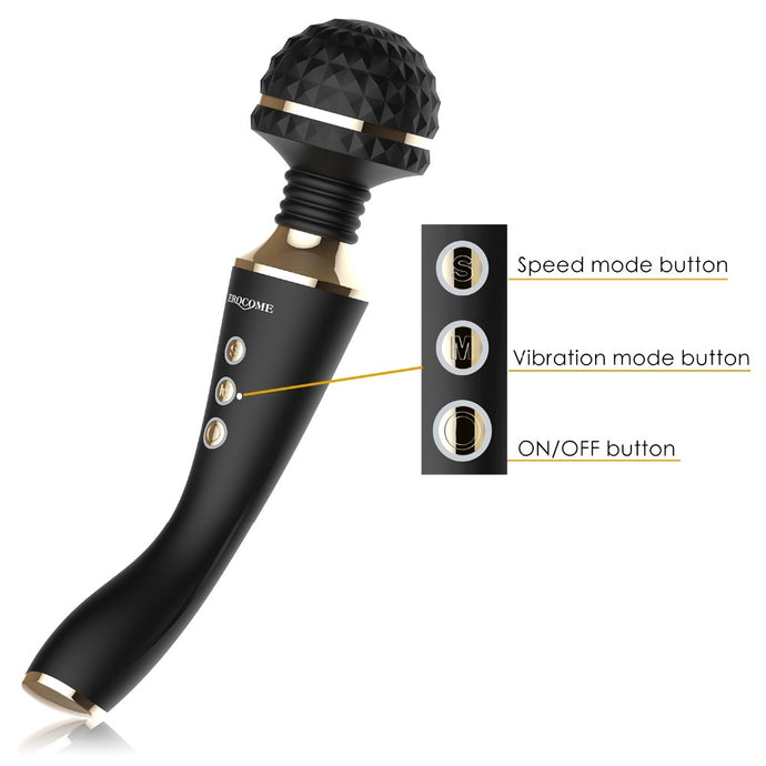 Multispeed Rechargeable AV Magic Wand Vibrator Sex Toys - Men Guide Store
