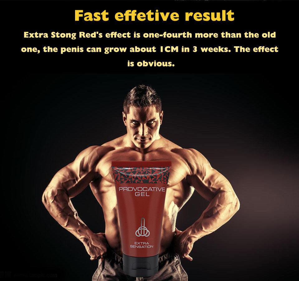 2017 new red titan gel extra power for men size growth