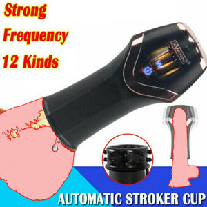 Automatic Male Masturbaters Electric Pussy Oral Blow Job Stroker Cup Men Sex Toy