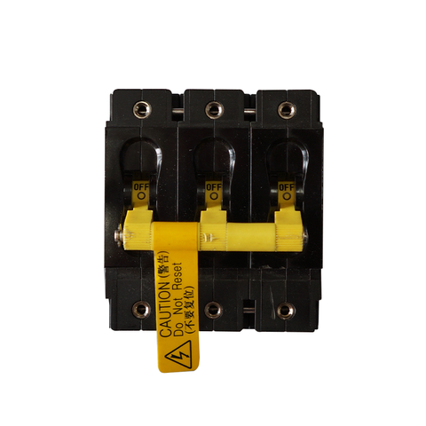 INTERRUPTOR 3 POLOS CARLING CT3-X0-10-869-66D-C