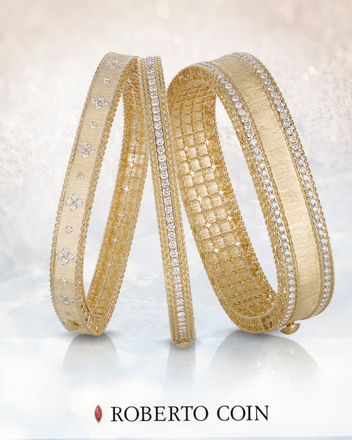 BRACELET PRINCESS IN GOLD WITH DIAMONDS