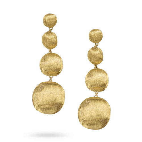 EARRINGS AFRICA IN GOLD