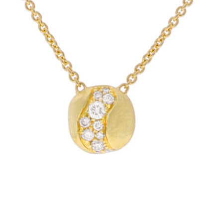 NECKLACE AFRICA IN GOLD AND DIAMONDS