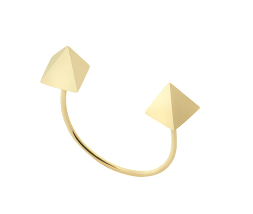 RING SQUARE IN GOLD