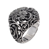 RING CHEVALIER IN STERLING SILVER