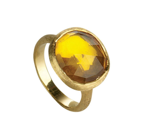 RING IN GOLD WITH CITRINE