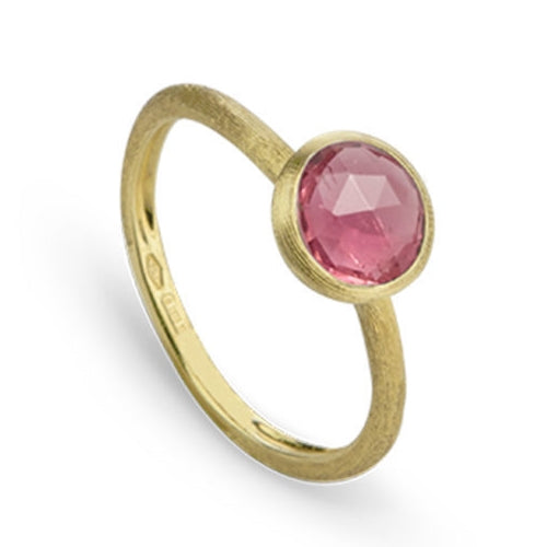 RING JAIPUR IN GOLD WITH PINK TOURMALINE
