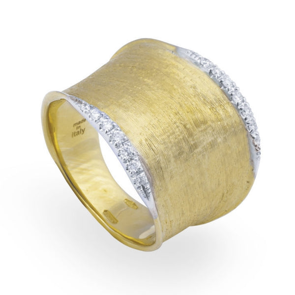 RING LUNARIA IN GOLD AND DIAMONDS