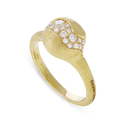 RING AFRICA IN GOLD