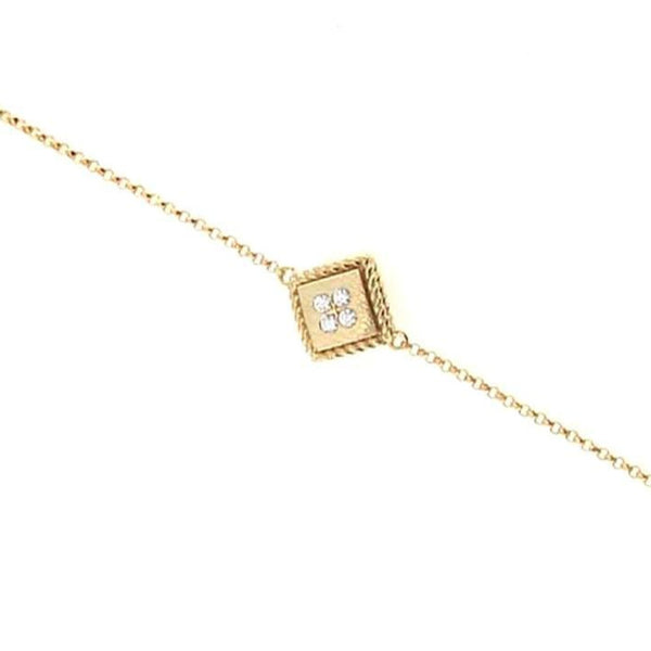 BRACELET PALAZZO DUCALE IN GOLD WITH DIAMONDS