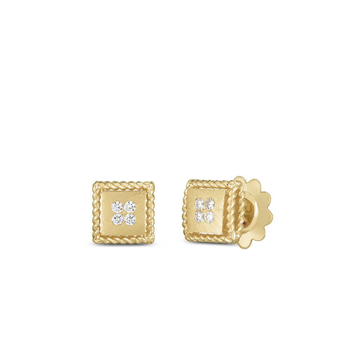 EARRINGS PALAZZO DUCALE IN GOLD WITH DIAMONDS