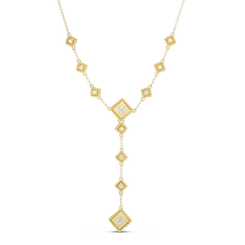 NECKLACE PALAZZO DUCALE IN GOLD WITH DIAMONDS