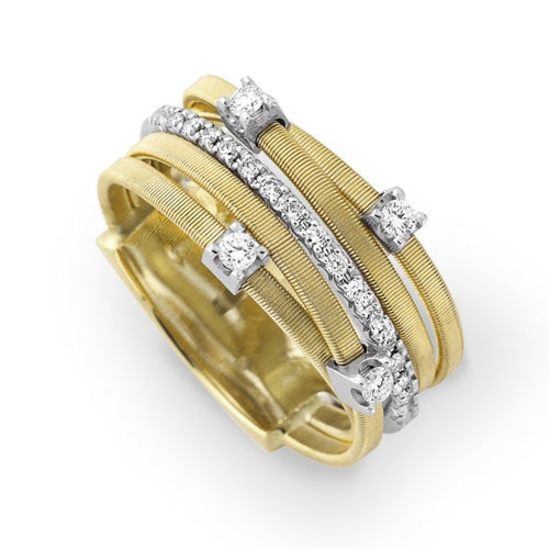 RING GOA IN GOLD AND DIAMONDS